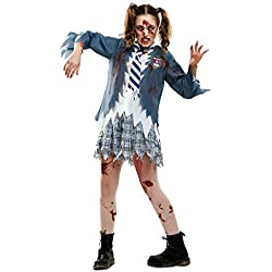 My Other Me Me-202546 Disfraz de estudiante zombie chica para mujer, S (Viving Costumes 202546