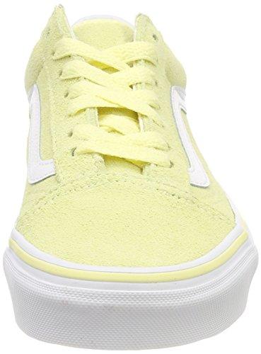 vans damen old skool sneakers gelb