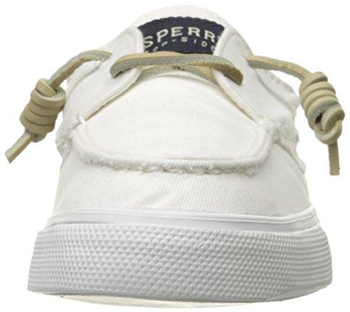 Sperry - Bahama 2-eye Washed, Scarpe da ginnastica Donna Bianco