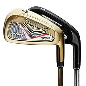 HJJGRASS PGM golfschläger 7 Eisen-Club Upgraded Golf Club Male Golf Produkte Für Golf/Indoor Golf,Golden,CarbonRodRClass