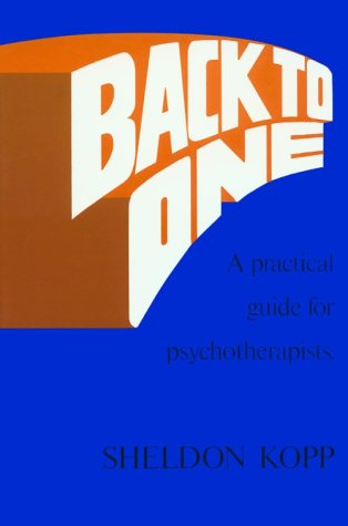 Back to One: Practical Guide for Psychotherapists