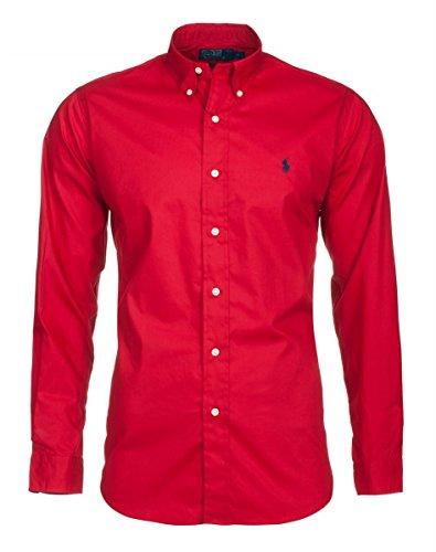 polo-by-ralph-lauren-chemise-pour-homme-park-avenue-red-custom-fit-rouge-xl
