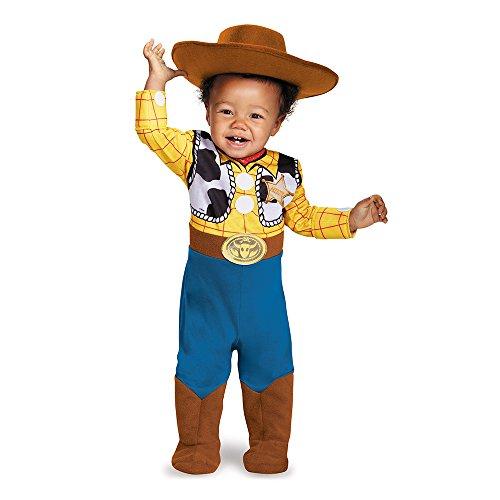 Disguise Jungen Infant Deluxe Woody Kostüm Gr. 12/18 Monate, (Woody Kostüm)