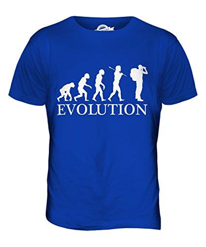 CandyMix Abenteuer Evolution Des Menschen Herren T Shirt Königsblau