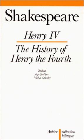 Henry IV, édition bilingue (français-anglais)