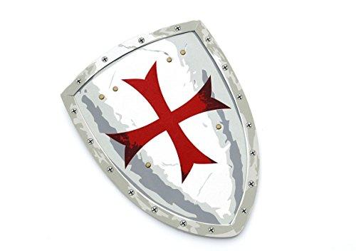 Liontouch 149LT Mittelalter Malteser Kreuz Ritter Spielzeug Schaumstoff Schild für Kinder | Teil von Kostüm mit Schwert und Accessoires