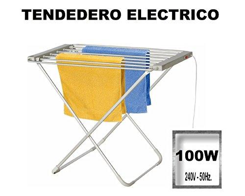 Tendedero electrico secador plegable de 100W - secar ropa rapidamente