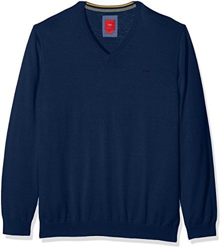 s.Oliver Big Size Herren Pullover 15709614344 Blau (Golf Blue 5794), XXX-Large