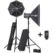 Elinchrom EL20749.2 - Equipo completo flash estudio BRX 500/500, negro