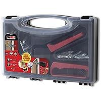 Molly m71940-xj m71940Kit de 40tacos metálicos + Alicate–30tacos metálicos 4x 33mm–10tacos metal 5x 36mm–Herramienta de instalación, Gris, Set de 41piezas