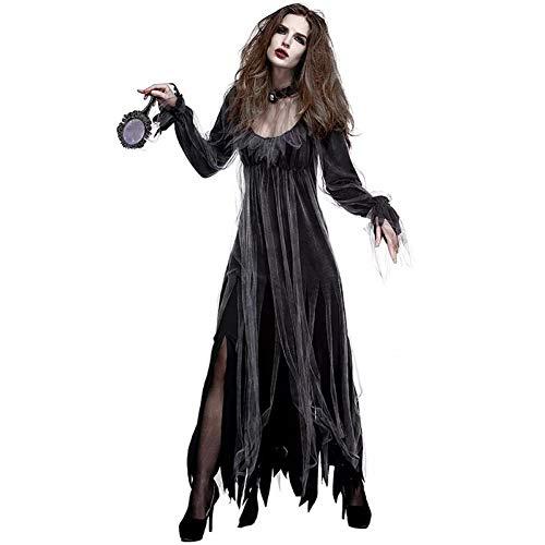 Walking Dead Woman Kostüm - WANSHENGJIE Halloween Kleid Lady Halloween Horror