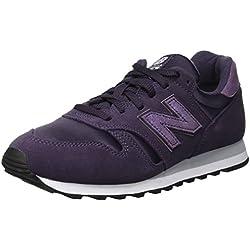 New Balance 373, Zapatillas para Mujer, Azul (Elderberry/Silver Mink Espresso), 36 EU