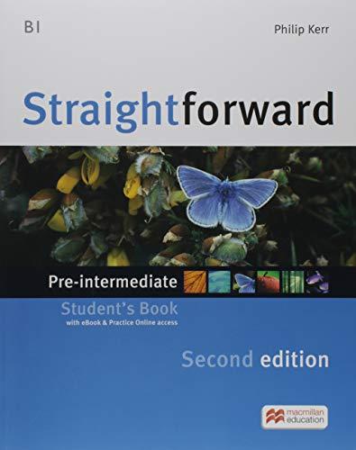 STRAIGHTFWD Pre-Int Sb (ebook) Pk 2nd Ed (Straightforward)