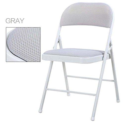 tragbarer Klappstuhl Beweglicher faltender rückseitiger Stuhl-Schemel-Ausgangsausbildungs-Büro-Konferenz-Computer-Stuhl-Schreibtisch-Stuhl-breathable Masche aufgefüllter Gewebe-Klappstuhl bunt Praktis - Konferenz-büro-stuhl