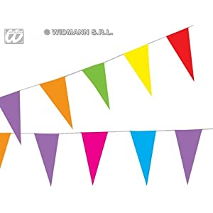 Widmann 2258l?Banderines de papel de colores guirnalda