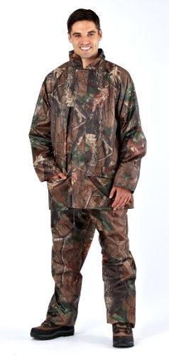 Elastische Kapuze (Herren ProClimate Tarnung Wasserfest Regen Anzug Mit Kapuze Jäger Jacke & Hose - Camo, X-Large)