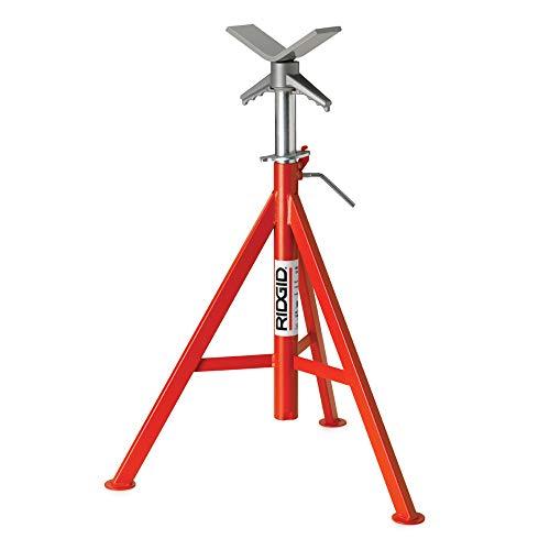 Ridgid 56662 Model VJ-99 V Head Low Pipe Sand 28-Inch-35-Inch Height Adjustment by Ridgid