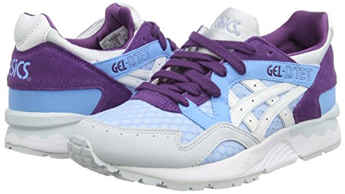Asics - Gel-lyte V, Sneaker basse Donna Blu (Light Blue/White 4101)