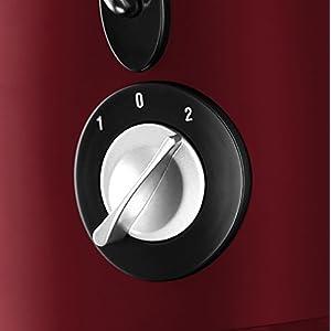 Russell Hobbs Desire 20366-56 Centrifuga, 550 Watt, 2 Litri, Acciaio Inossidabile, 2 Velocità, Rosso - 2021 -