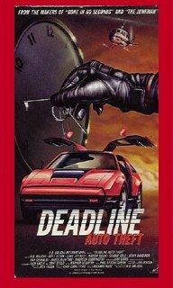 Preisvergleich Produktbild Deadline Auto Theft [VHS]