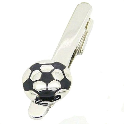 Krawattenklammer Fußball Design