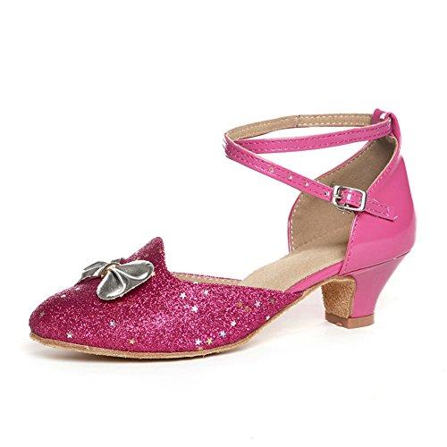scarpe da ballo latino per bambini/ scarpe latino per bambini per ragazze/ dancing shoes/Scarpe di ballo Ladies R