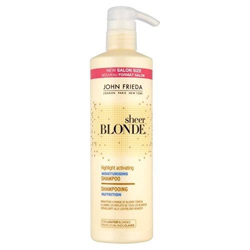 John Frieda Sheer Blonde Sélectionnez Activer Shampooing Hydratant 500ml