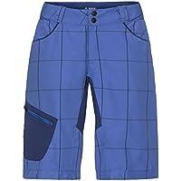 VAUDE Craggy Pantalones Cortos, Primavera/Verano, Mujer, Color Morado, tamaño Medium