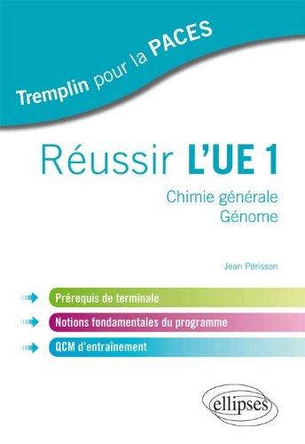 Russir l'UE1 Chimie Gnrale Gnome Prrequis de Terminale Notions Fondamentales du Programme QCM d'Entranement