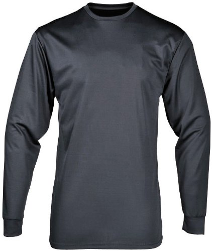 Portwest B133CHAL Top Termico Manica Lunga Baselayer, Antracite, Large