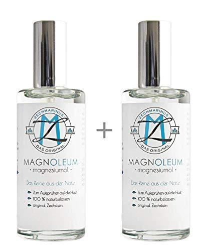 Magnesiumöl Spray Zechstein Magnoleum 200 ml zum Sparpreis - Sprühflaschen aus Glas - dermatologisch getestet - Magnesiumchlorid, Magnesium Sole, Magnesium Oil, Magnesiumöl günstig kaufen