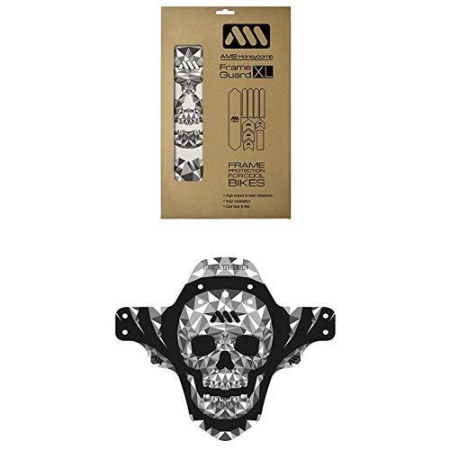 All Mountain Style Protector de cuadro XL + Guardabarros delantero Skull