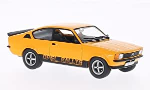 Opel Kadett C Rallye, orange , Modellauto, Fertigmodell, WhiteBox 1:43