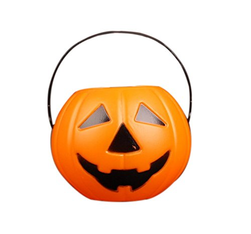Westeng Mini-Korb in Kürbisform, Halloween-Dekoration