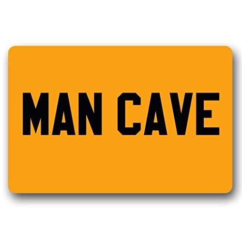 Mann Kostüm Höhle - Feng Huang Mann Höhle Fußmatte Design Vliesstoff Rutschfeste Indoor RugFloor Matte Lustige Fußmatte 23,6