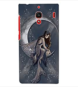 ColourCraft Lovely Angel Design Back Case Cover for XIAOMI REDMI 1S