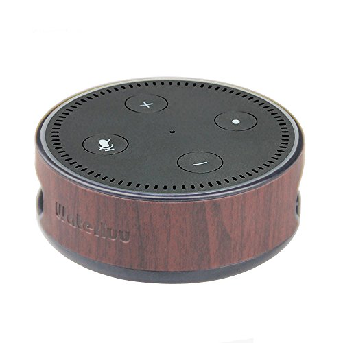 Alexa Protective Case, Echo Dot Case,WaterLuu Amazon Echo Dot-Hülle (nur für Echo Dot 2. Generation geeignet), Sandelholz