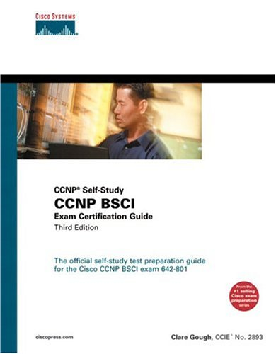 CCNP BSCI Exam Certification Guide (CCNP Self-Study, 642-801)