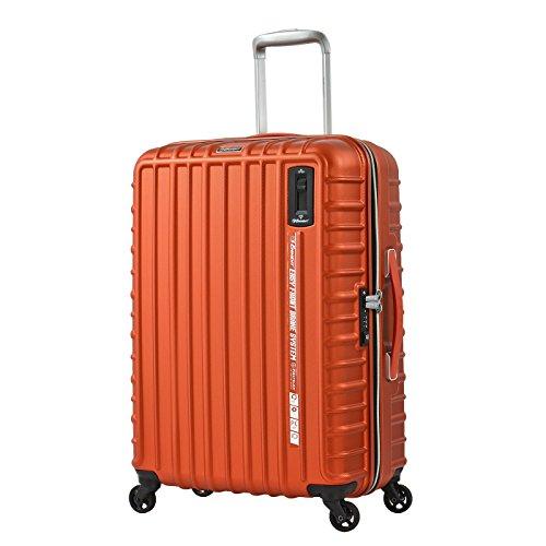 Eminent interlock bagaglio medio leggero | 66x46x28cm 69l valigia check-in policarbonato rigido | 4 ruote 360° silenziose | lucchetto tsa e impugnatura telescopica ergonomica & freno integrato