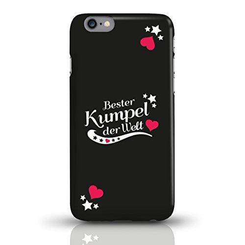 """JUNIWORDS Handyhüllen Slim Case für iPhone 6 / 6s mit Schriftzug """"Bester Kumpel der Welt"""" - ideales Weihnachtsgeschenk für den Kumpel - Motiv 3 - Handyhülle, Handycase, Handyschale, Schutzhülle für Ih motiv 1"""