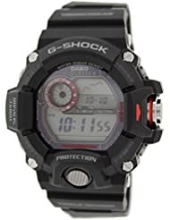 Casio G-Shock Rangeman GW-9400-1ER Cronógrafo para hombres Resistente a golpes