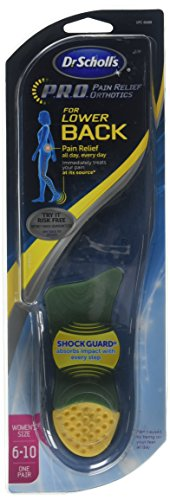 Dr. Scholl's P.R.O Lower Back Women's Size 6-10 Pain Relief Orthotics