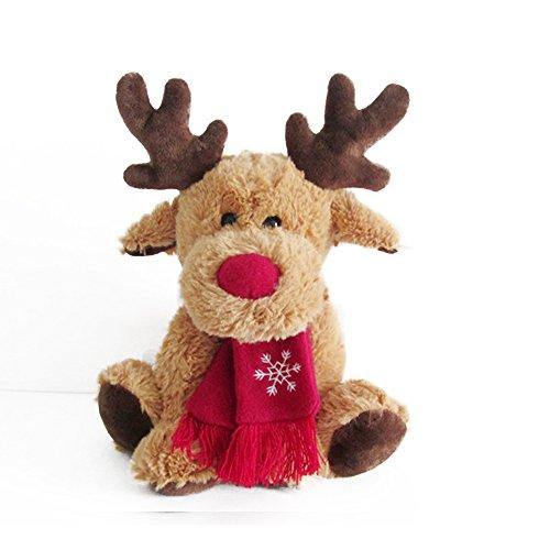 Elch gefüllte Tier Weihnachten Elch Hirsch Stofftier Spielzeug Rentier Dekorationen von Magical Imaginary