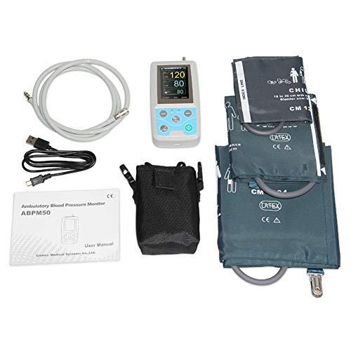 WANG 24 Horas ambulatorio presión sanguínea Monitor