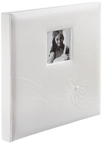 Zep kn323230 album fotografico tradizionale, linea karen wedding collection, 60 pagine, colore: bianco, dimensioni 32 x 32 cm