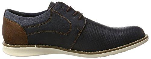 Bm Footwear Herren 2713803 Derby Blau (navy)