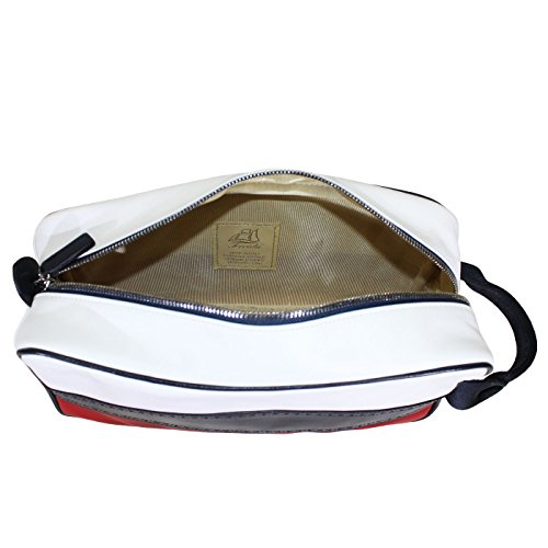 Terrida Flag borsa portascarpe - FG958 (Bianco) Bianco