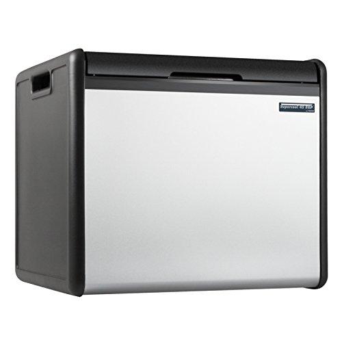 Kühlbox mit großen 39Liter Volumen, Kühlbehälter für den Urlaub im Europäischen Ausland geeignet, flexible einsetzbar, da über Gas und Strom nutzbar