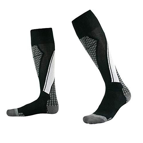 Wooden fish High Performance Thermal Ski Socken, atmungsaktive Socken für Männer und Frauen Athleten, die für Leistung und Qualität Lauf suchen, Radfahren,D,M