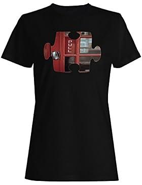 Rompecabezas tirar puerta imagen imagen nuevo camiseta de las mujeres e904f